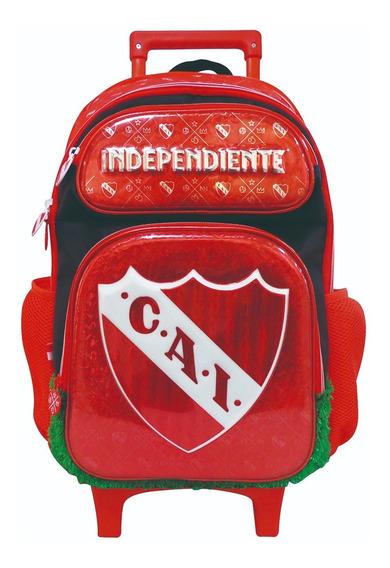 Mochila Carrito 16 Premium Cesped Orig. Independiente Jiujim