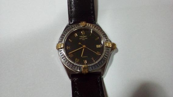 Relogio Breitling Callisto 35mm , Ouro E Aço. Aceito Trocas