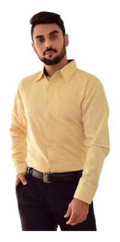 Camisa Social Slim Fit Bolinha Pronta Entrega - 4 Cores