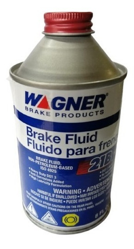 Liquido De Frenos Dot 3 237ml - Wagner