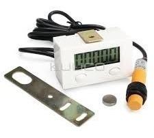 Contador Eletrônico Digital Indução Sensor De Proximidade.