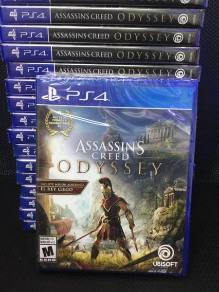 Assassins Oddyssey Ps4... Nuevo Y Sellado
