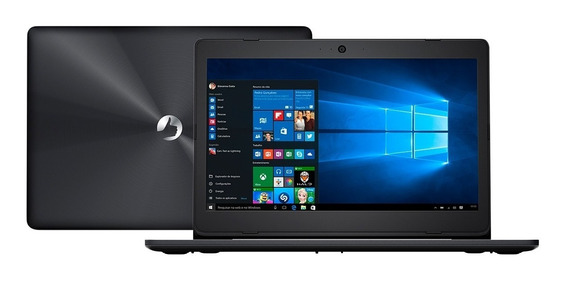 Notebook Positivo Intel Dual Core 4gb Windows 10 - Novo