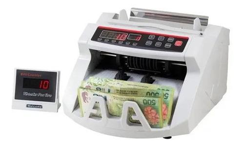 Contadora De Billetes Detector Falso Contador Maquina Dinero
