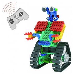 Robô Em Blocos De Construção Controlo Remoto 137 Peças