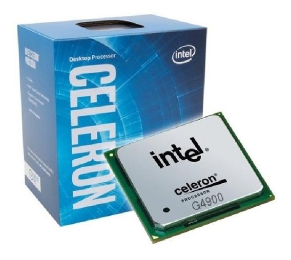 Processador Intel Lga1151 8ª Coffee Lake Celeron G4900 4k