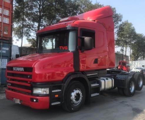 Scania T124 420 6x2 2000