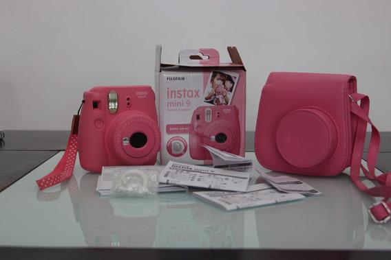 Camera Instantanea Fujifilm Mini 9 - Praticamente Nova