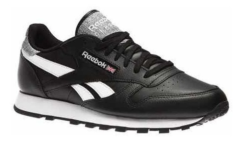 Tênis Reebok Classic Original Leather Pop Pto/bco Masculino