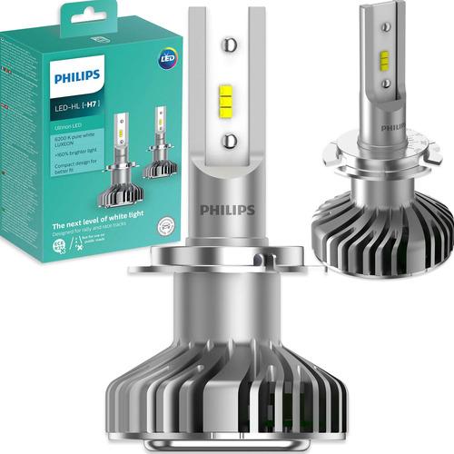 Imagem 1 de 7 de Kit Lâmpada Philips Ultinon Led H7 6200k