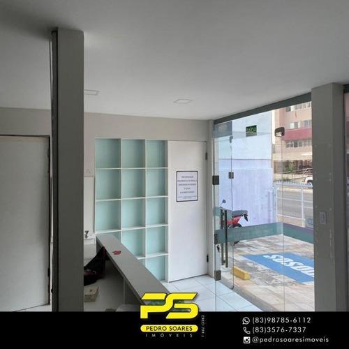 Imagem 1 de 11 de Sala Para Alugar, 242 M² Por R$ 10.500/mês - Tambaú - João Pessoa/pb - Sa0200