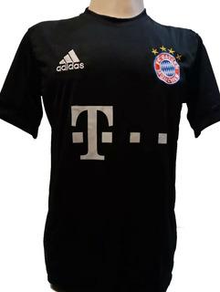 Camisa Bayern Munchen Preta