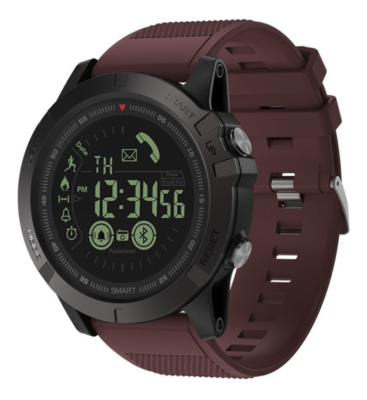 Relógio Militar Vibe 3 Puls.marrom 12x S/j P.entrega
