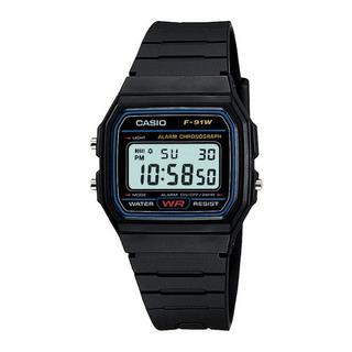 Reloj Casio Vintage F-91w-1 Original Agente Oficial Caba