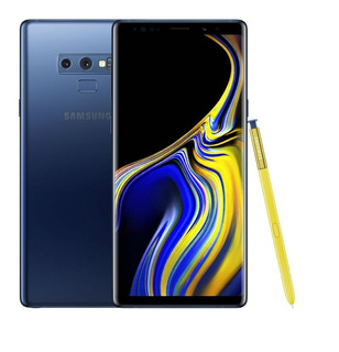 Samsung Galaxy Note 9 128gb 6gb Ram Libr D Fabrica- Azul