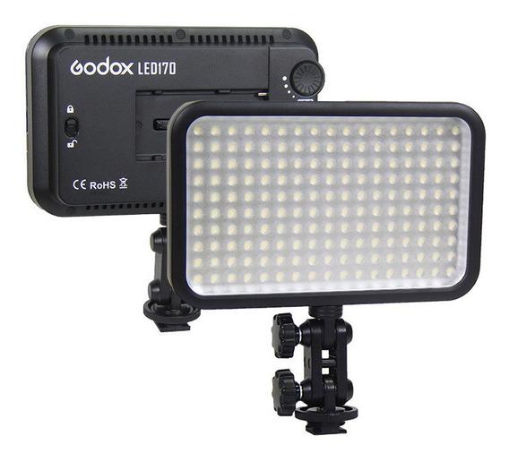 Iluminador De Led Godox 170 Compatível Com Pilhas Aa