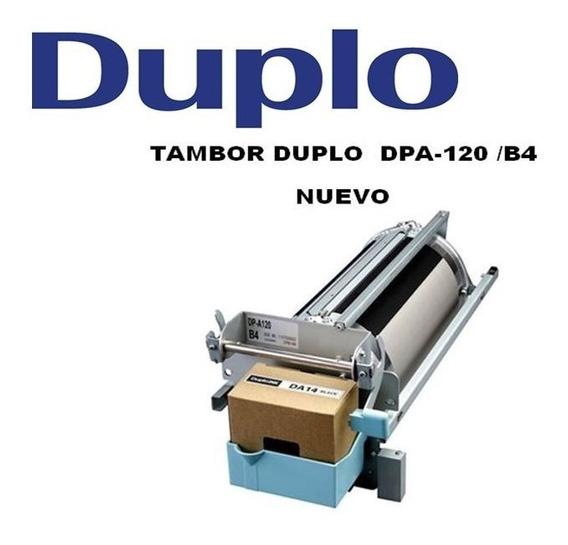 Tambor-drum Duplo A4 / Carta Para Duplicadora Dp-a120 400