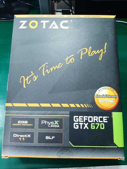 Placa De Video Gtx670 Zotac