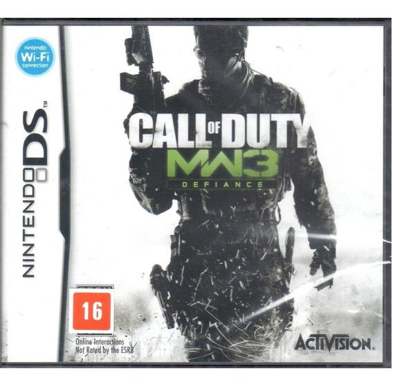 Call Of Duty Mw3 Nintendo Ds Original Mídia Física Lacrado