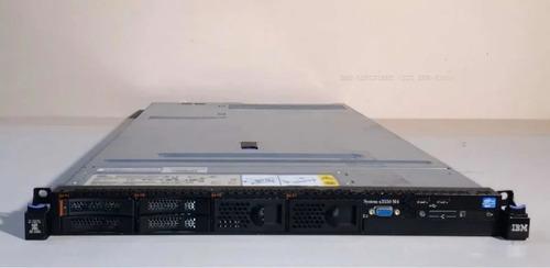 Servidor Ibm X3550 M4 Seminovo - 8 Nucleos - 32gb Ram Ddr3