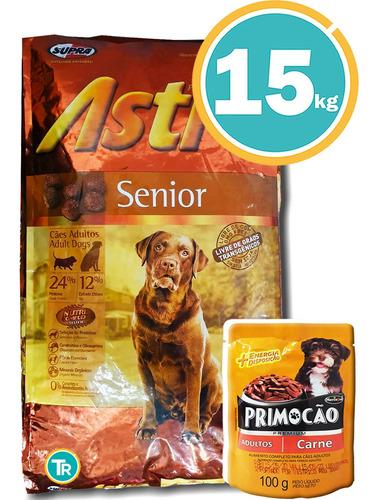Ración Perro Astro Adultos Mayores + Obsequio Y Envío Gratis