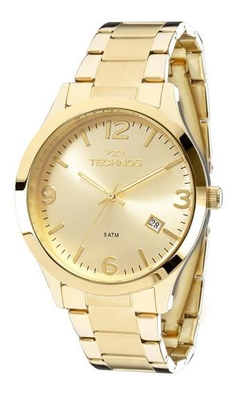 Relógio Technos Dourado Feminino Original 2315acd/4x C/ Nfe