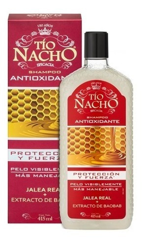 Tio Nacho Shampoo Antioxidante Anti-caida Magistral Lacroze