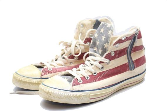 Tenis Converse Bandera Usa Estados Unidos ( Liquidacion )