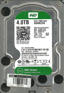 Disco Rígido 3.5 Wd Green 4tb No Funciona
