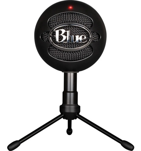 Micrófono Blue Snowball Ice Usb Blaco / Negro  40 18 Khz