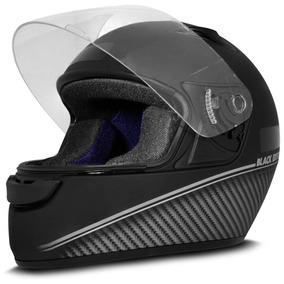 Capacete Ebf New Spark Masculino Fosco Black Edition Prata