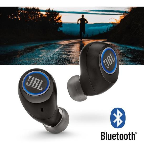 Fone De Ouvido Jbl Free X Preto Bt Bluetooth Sem Fio