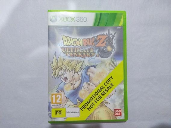 Dragon Ball Z Ultimate Tenkaichi Europeu - Xbox 360 Original