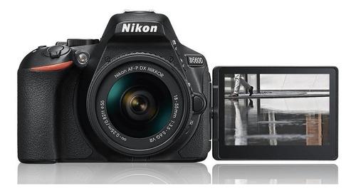 Cámara Nikon D5600 Kit 18-55mm 24,2 Mpx Full Hd