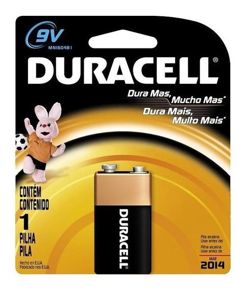 Kit Com 20 Baterias 9v Duracell Original!!!!