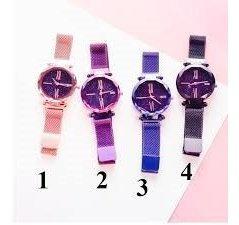5 Relógios Feminino Céu Estrelado
