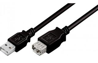 Cable Extensión Usb A-a M/h 3 Mts. Boleta/factura