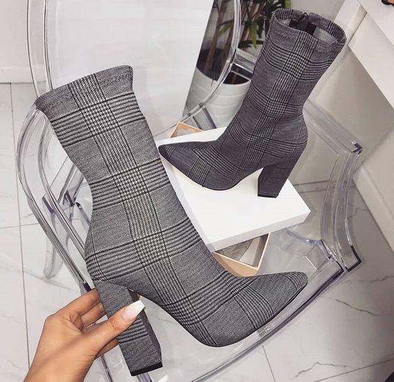 Bota Ankle Scarpin Corturno Moda Feminina