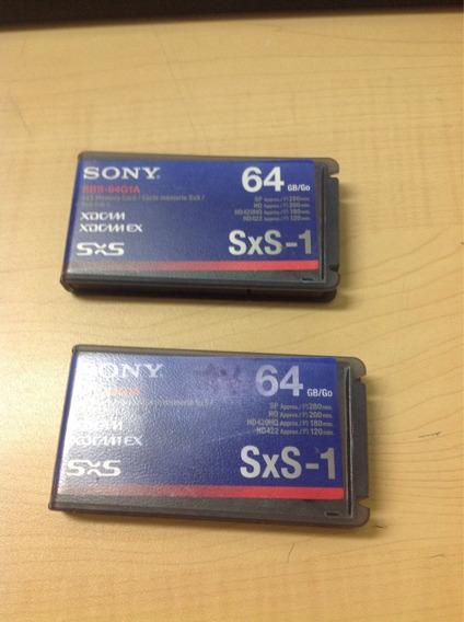 1 Cartão De Memória Sony 64gb Sxs-1(sb6-64g1a)