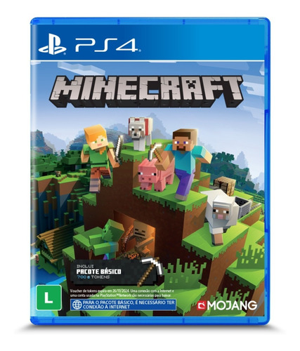 Jogo Minecraft Starter Collection - Ps4