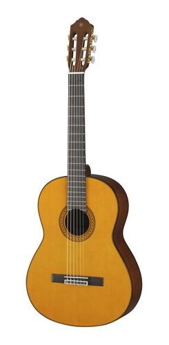 Imagen 1 de 5 de Guitarra criolla clásica Yamaha C80  natural