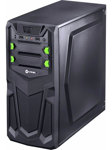 Cpu Gamer Intel Core I3 8gb Ssd 480gb Windows 10 Fonte 500w