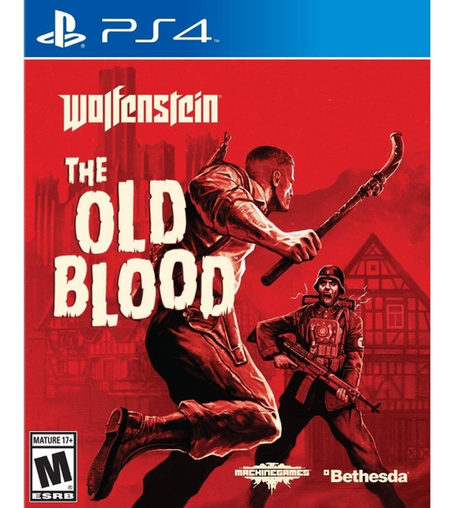 Wolfenstein The Old Blood Ps4 Mídia Física Pronta Entrega