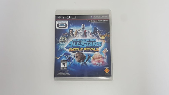 Playstation All Stars Battle Royale - Ps3 - Original