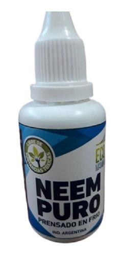 Imagen 1 de 3 de Aceite De Neem Puro Insecticida Ecologico Ecomambo  Envios