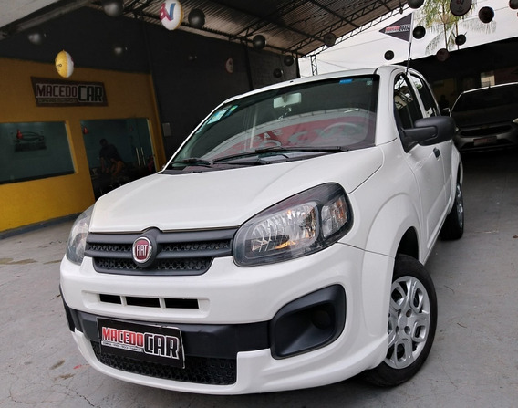 Fiat Uno 1.0 Drive 2018 Branco