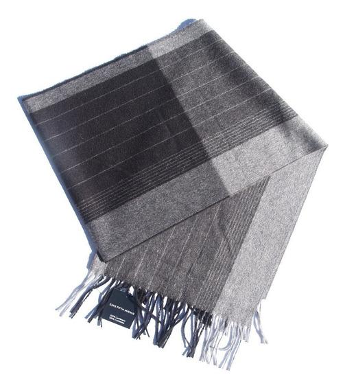 Bufanda De Hombre 100% Cachemire 30x165 Cm