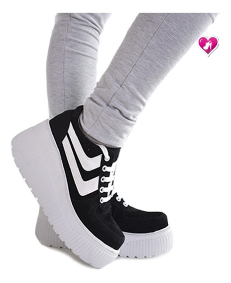 Zapatillas Plataforma Sneakers Model Zharay De Shoes Bayres