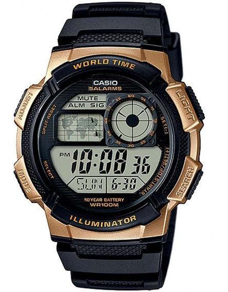 Relógio Casio Masculino Original Ae-1000w + Frete +nf Barato