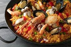 Paella. Autentica Paella Valenciana. Deliciosa